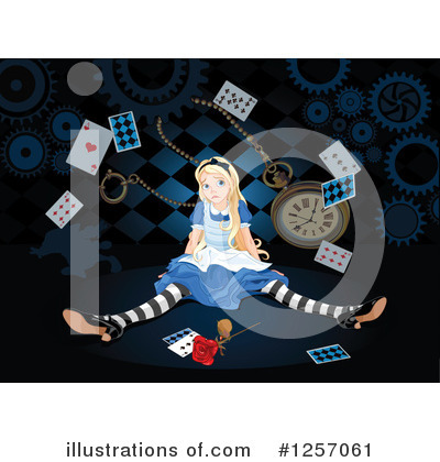 Alice In Wonderland Clipart #1257061 by Pushkin