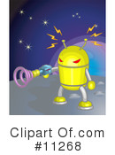 Royalty-Free (RF) Alien Clipart Illustration #11268