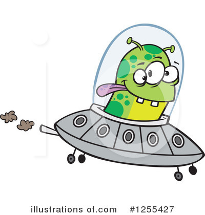 Alien Clipart #1255427 by toonaday