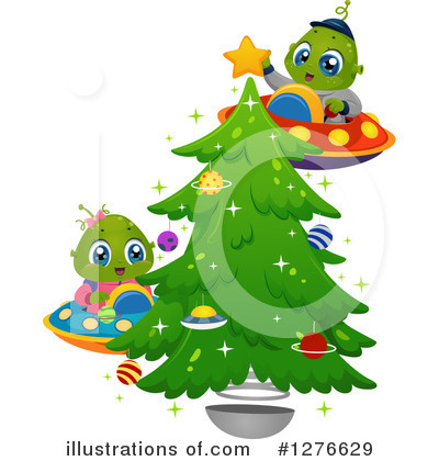 Christmas Tree Clipart #1276629 by BNP Design Studio