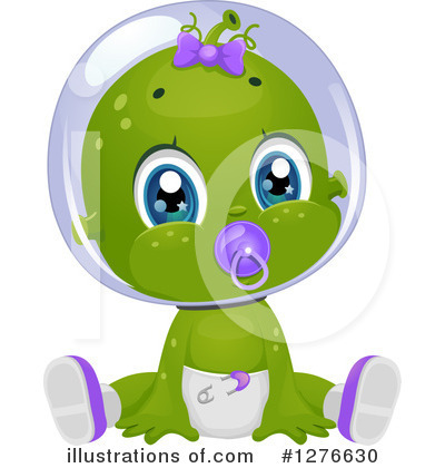 Alien Clipart #1276630 by BNP Design Studio