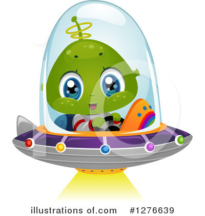 Ufo Clipart #1276639 by BNP Design Studio