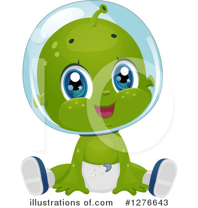 Alien Clipart #1276643 by BNP Design Studio