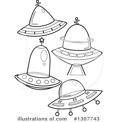 Ufo Clipart #1307743 by BNP Design Studio