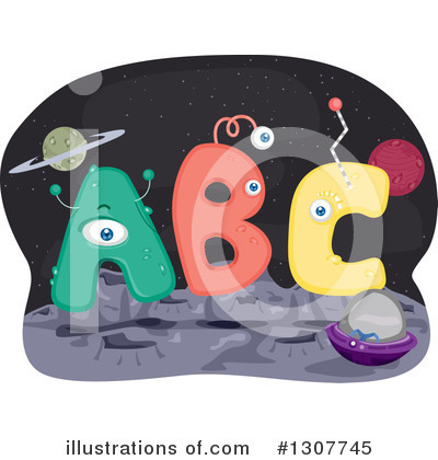 Alien Clipart #1307745 by BNP Design Studio