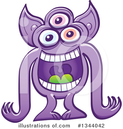 Monster Clipart #1344042 by Zooco