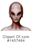Royalty-Free (RF) Alien Clipart Illustration #1407464