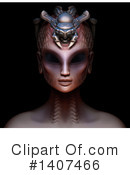 Royalty-Free (RF) Alien Clipart Illustration #1407466