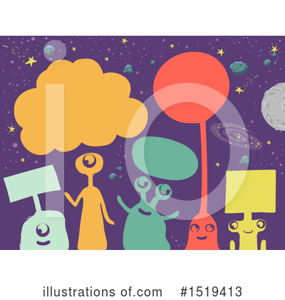 Alien Clipart #1519413 by BNP Design Studio