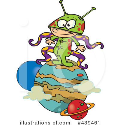 Alien Clipart #439461 by toonaday