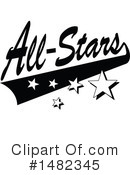 All Stars Clipart #1482345 by Johnny Sajem