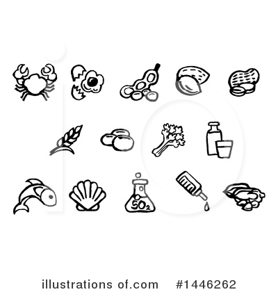 Allergy Clipart #1446262 by AtStockIllustration