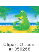 Royalty-Free (RF) Alligator Clipart Illustration #1050268