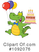 Alligator Clipart #1092076 by Hit Toon