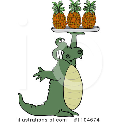 Alligator Clipart #1104674 by djart