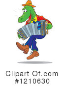 Royalty-Free (RF) Alligator Clipart Illustration #1210630