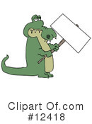 Alligator Clipart #12418 by djart