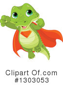 Royalty-Free (RF) Alligator Clipart Illustration #1303053