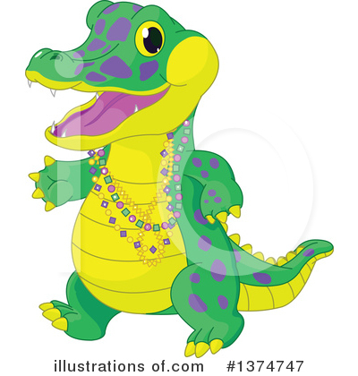 Alligator Clipart #1374747 by Pushkin
