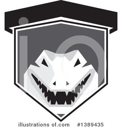 Alligator Clipart #1389435 by patrimonio