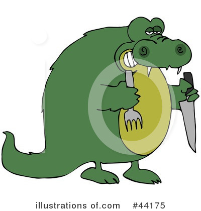 Alligator Clipart #44175 by djart