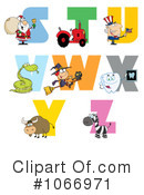 Alphabet Clipart #1066971 by Hit Toon