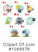 Alphabet Clipart #1066976 by Hit Toon