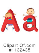Royalty-Free (RF) Alphabet Clipart Illustration #1132435