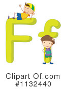 Royalty-Free (RF) Alphabet Clipart Illustration #1132440