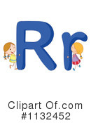 Royalty-Free (RF) Alphabet Clipart Illustration #1132452
