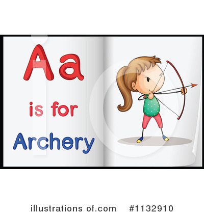 Archery Clipart #1132910 by Graphics RF