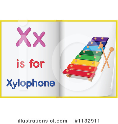 Xylophone Clipart #1132911 by Graphics RF