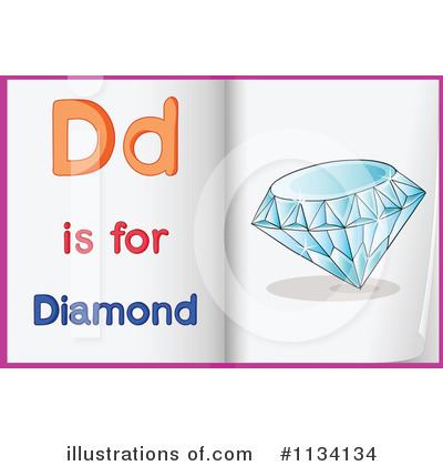 Diamond Clipart #1134134 by Graphics RF