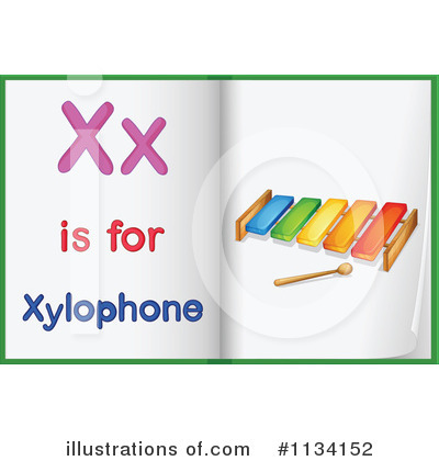 Xylophone Clipart #1134152 by Graphics RF