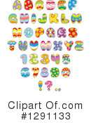 Royalty-Free (RF) Alphabet Clipart Illustration #1291133