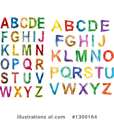 Letter A Clipart #1300164 by Vector Tradition SM