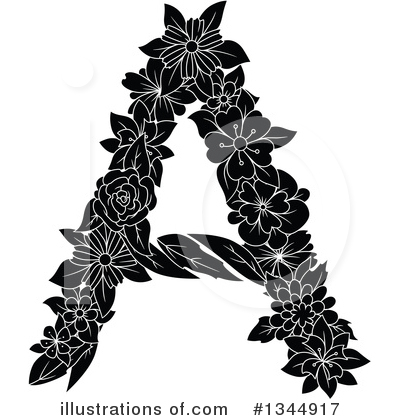 Letter A Clipart #1344917 by Vector Tradition SM