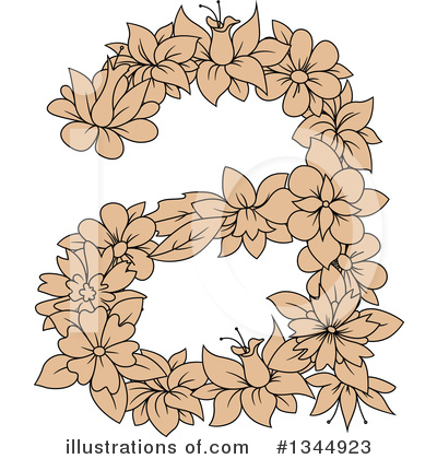 Letter A Clipart #1344923 by Vector Tradition SM