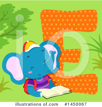Elephant Clipart #1450067 by BNP Design Studio
