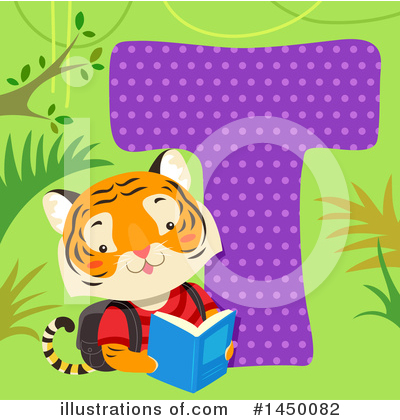 Tiger Clipart #1450082 by BNP Design Studio