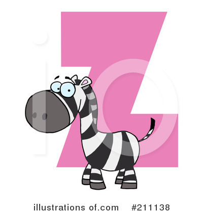 Zebra Clipart #211138 by Hit Toon
