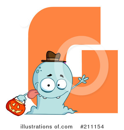 Ghost Clipart #211154 by Hit Toon