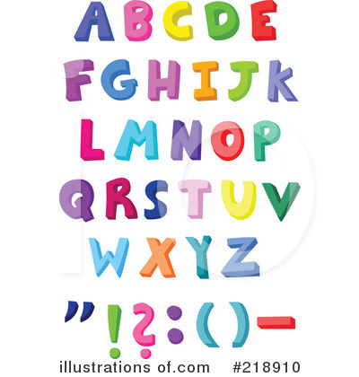 Letters Clipart #218910 by yayayoyo