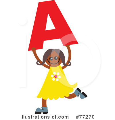 Royalty-Free (RF) Alphabet Kids Clipart Illustration by Prawny - Stock Sample #77270