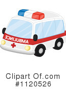 Royalty-Free (RF) Ambulance Clipart Illustration #1120526