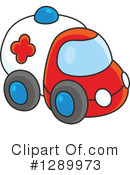 Ambulance Clipart #1289973 by Alex Bannykh