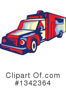 Ambulance Clipart #1342364 by patrimonio
