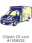 Ambulance Clipart #1358232 by patrimonio