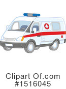 Ambulance Clipart #1516045 by Alex Bannykh