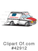 Ambulance Clipart #42912 by Dennis Holmes Designs